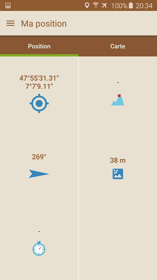 Screenshots of Visorando GPS randonnée for iPhone