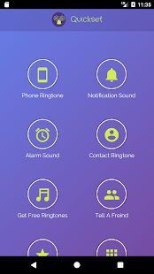 Quickset - set your ringtones and sounds - náhled