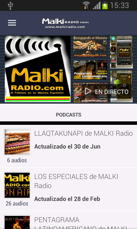 Malki Radio Podcast- screenshot
