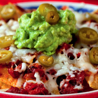 Chorizo and Manchego Nachos Recipe