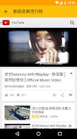 Screenshot of Chinese Song Charts