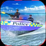 Police Boat Chase: Crime City