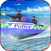 Police Boat Chase: Crime City