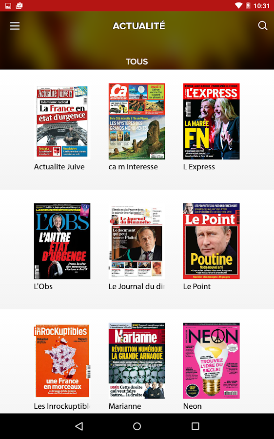 Le Kiosque presse Relay- screenshot