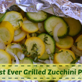 Easiest Ever Grilled Zucchini Packet.
