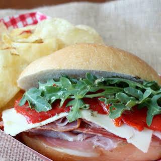 Italian Mini Sub Sandwiches with Homemade Sub Sauce.