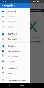 Privacy Browser Screenshot