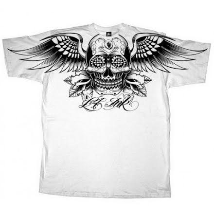 T-Shirt - Winged Skull