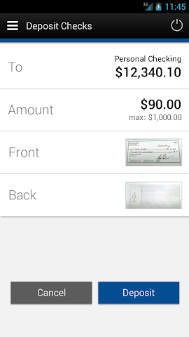 android MHV Mobile Banking Screenshot 3