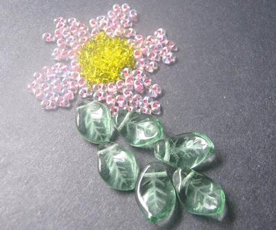 Spring Flower Bead Palette