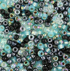 Norther Lights Exclusive Bead Mix from Whimbeads.com