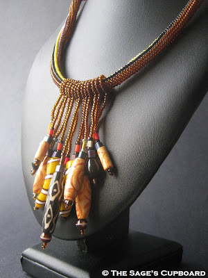 Wise Woman Tribal Fringe Necklace
