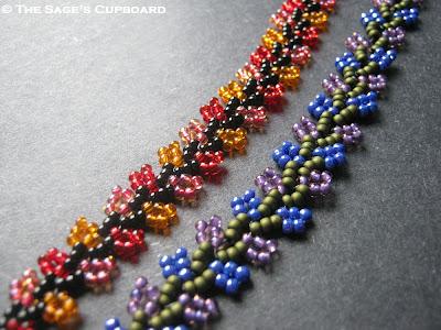 Nepal Chain Stitch Variations