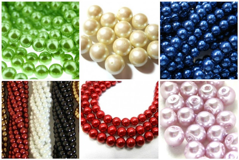 Assorted Imitation Pearl Beads