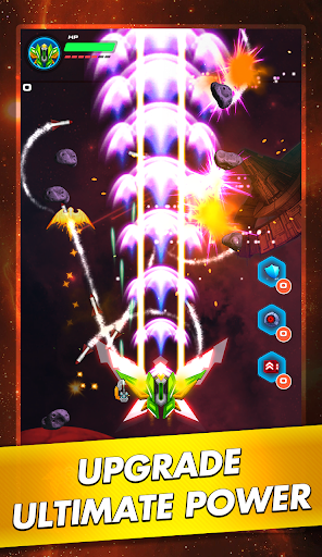 Galaxy Sky Shooter: Space Phoenix Hawk Attack 1.5 screenshots 4