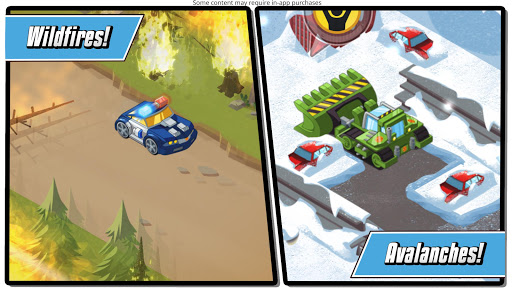 Transformers Rescue Bots: Hero Adventures 2.2 screenshots 5