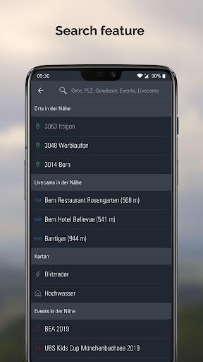Weather Alarm: Forecast & alerts for Switzerland 5.18.2.9 screenshots 6