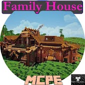 Family house for Minecraft PE