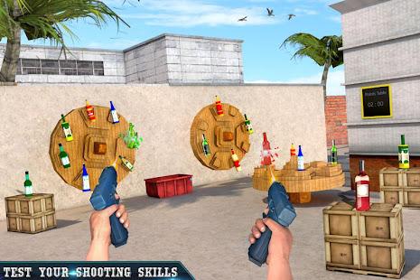 Real Bottle Shooting Free Games