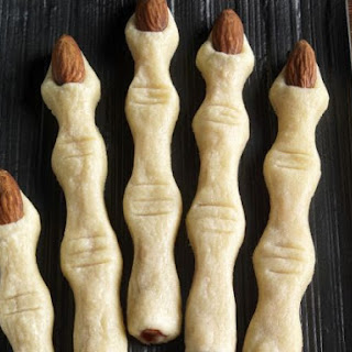 Creepy Almond Biscuits
