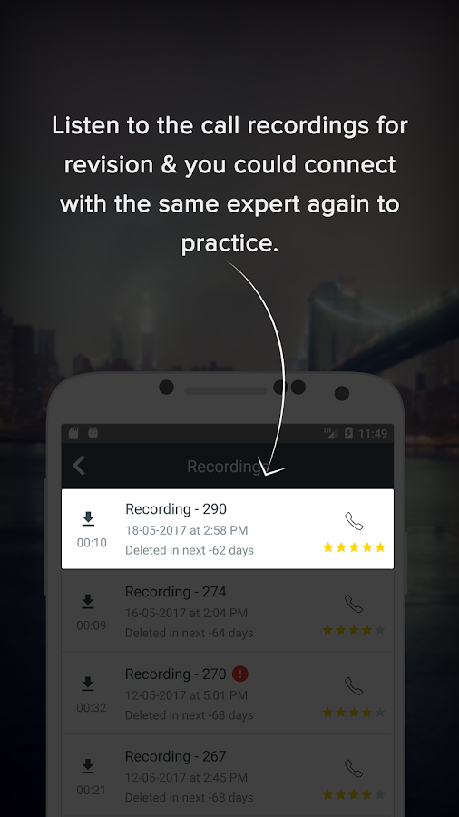 EngVarta: Daily English Practice with Experts- screenshot