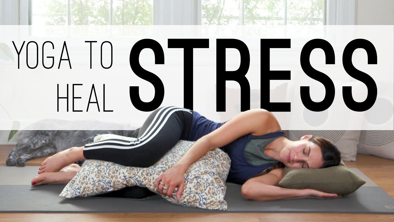 Yoga to heal stress