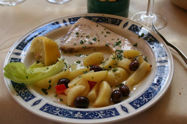 魚とポテトのスープ?
