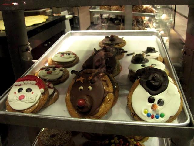 トナカイ顔のクッキー