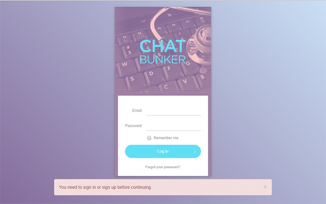 ChatBunker Screenshare