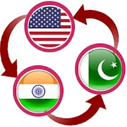 USD To Indian Rupee and Pakistani Rupee Converter