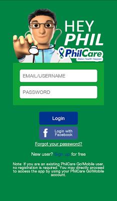 HeyPhil - screenshot