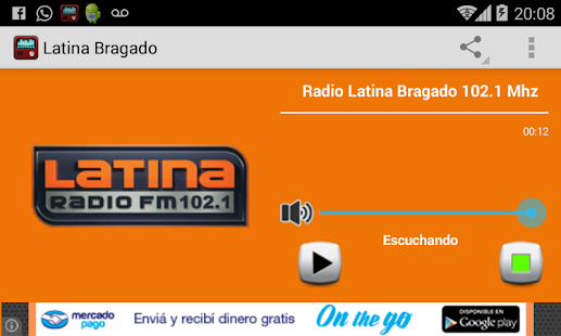 Radio Latina Bragado- screenshot thumbnail