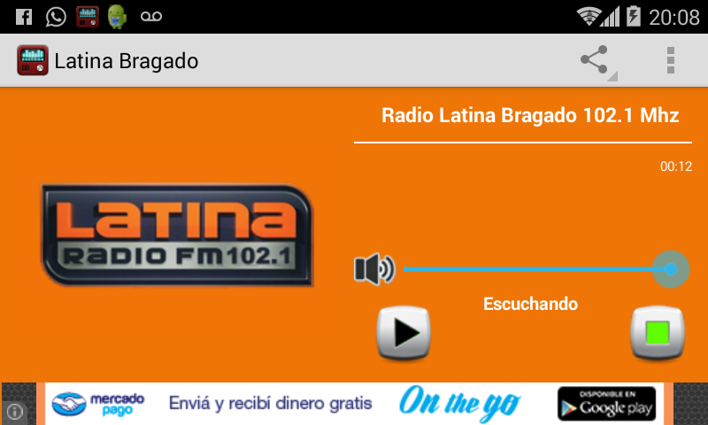 Radio Latina Bragado- screenshot