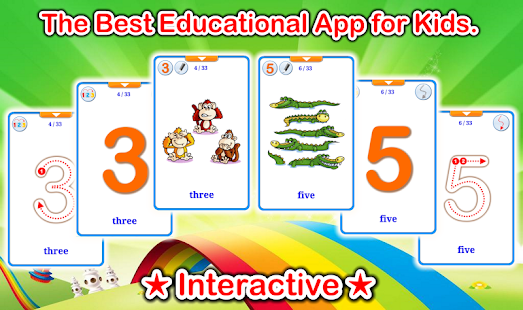 Numbers 123 Flashcards PRO Screenshot