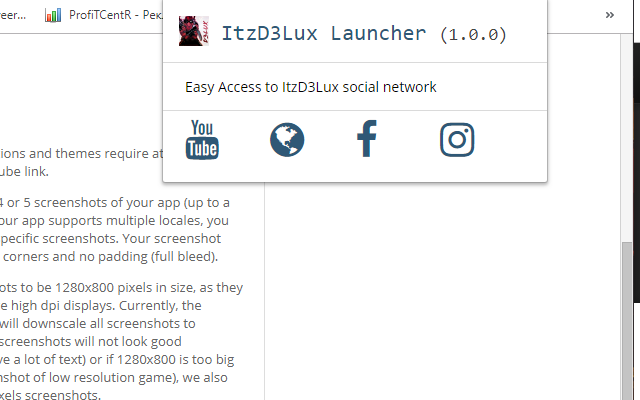 ItzD3Lux Launcher