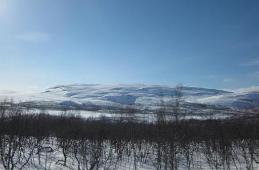 De schoonheid van de Noorse bergen
