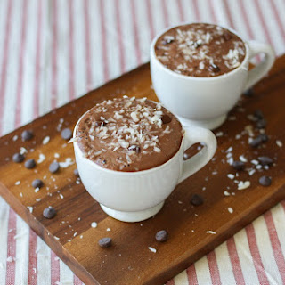 Frothy Hot Chocolate with Pistachio Milk Recipe