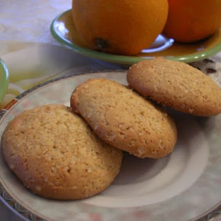 Low-Fat Orange Soft Cookies