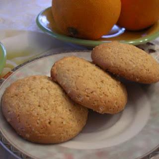 Low-Fat Orange Soft Cookies.