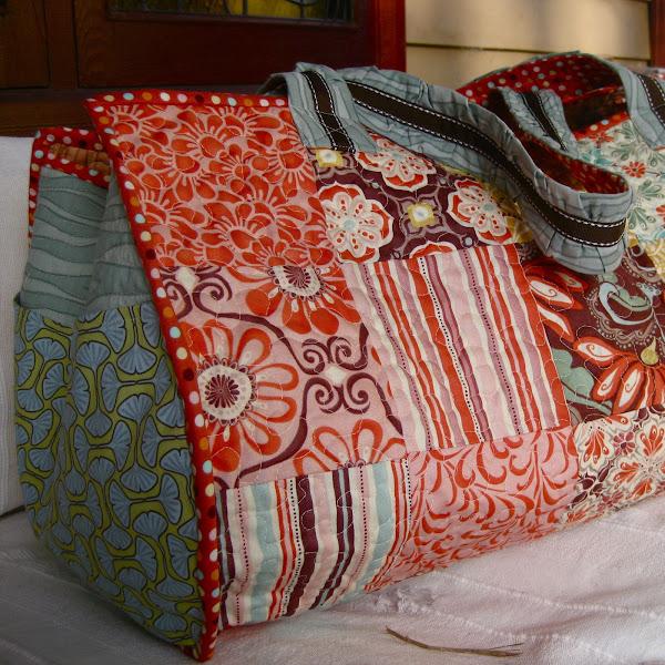 charm pack beach bag
