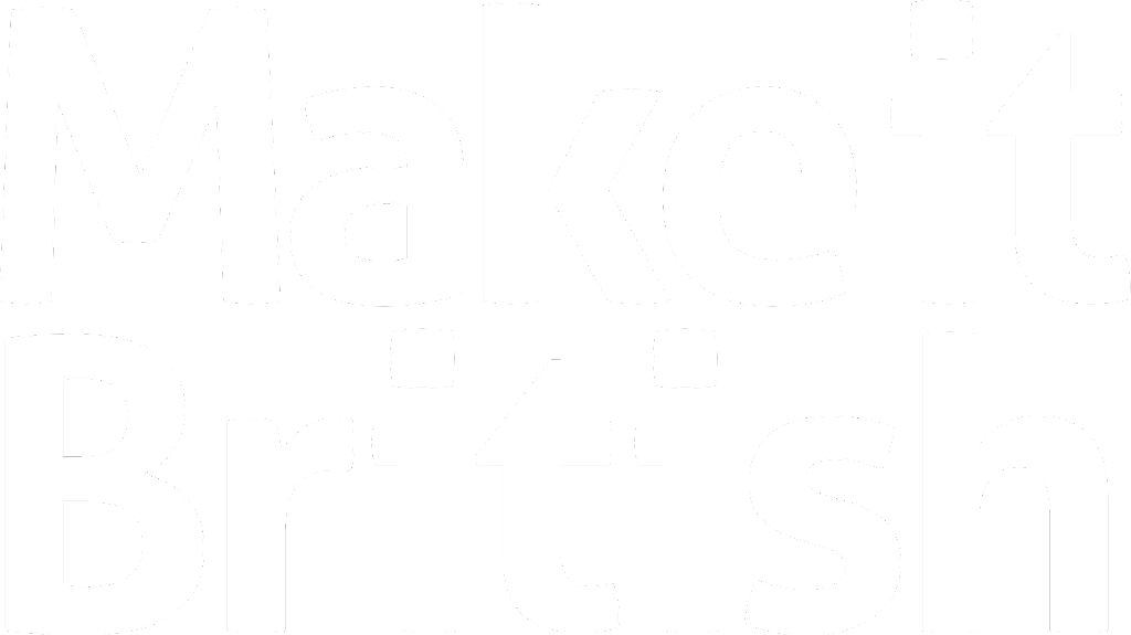 Make it British Logo White