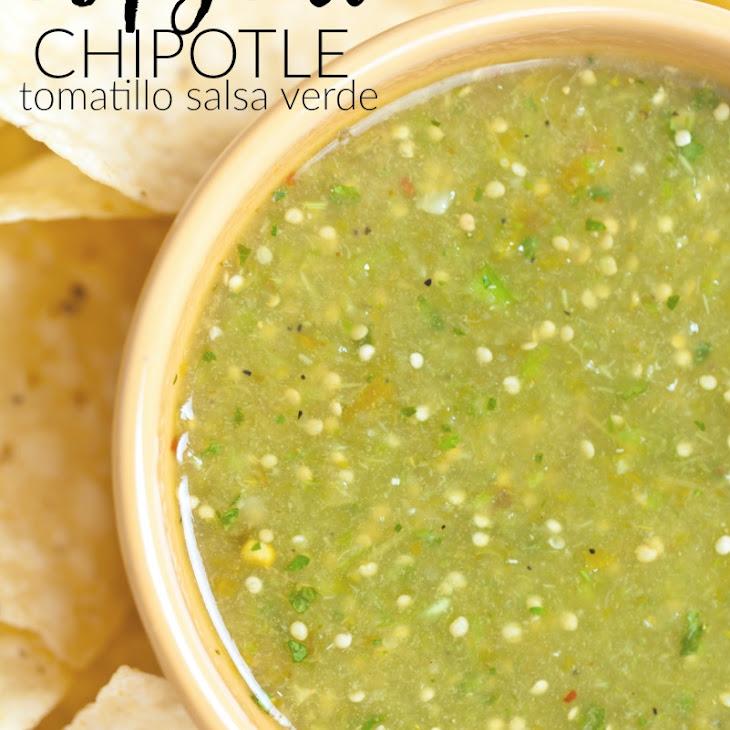 Chipotle Tomatillo Salsa Recipe — Dishmaps