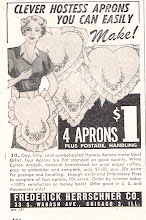 Photo: I had forgotten all about hostess aprons.