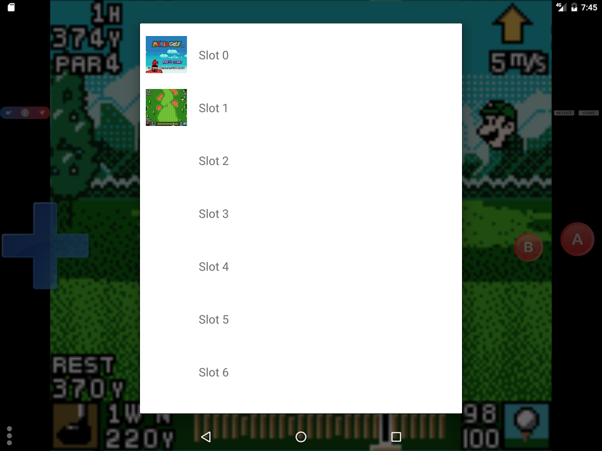 Gameboy color emulators - Pizza Boy Game Boy Color Emulator Free Screenshot