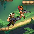 Bombastic Brothers - Top Squad.2D Action shooter. APK