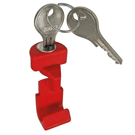 KLICKfix Tast med lås for sykkeladapter
