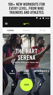 NIKE+ TRAINING CLUB Screenshot 1
