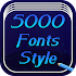 5000 Font Style Free