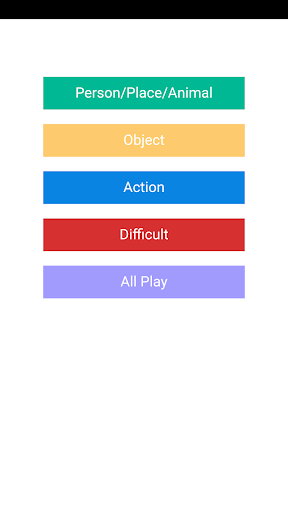 Pictionary Word Generator - screenshot