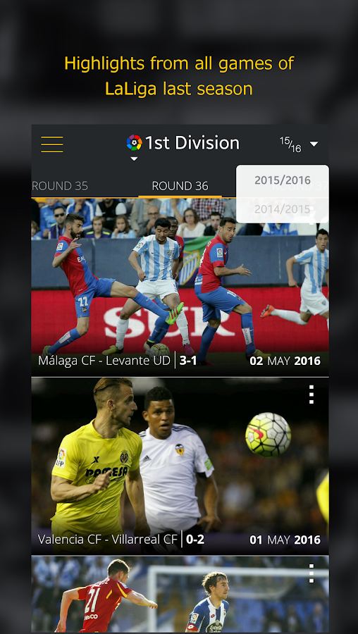 La Liga TV – Official Football- screenshot